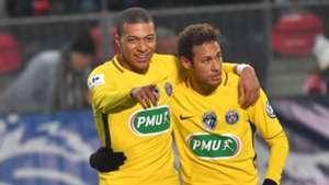 Kylian Mbappe Neymar PSG
