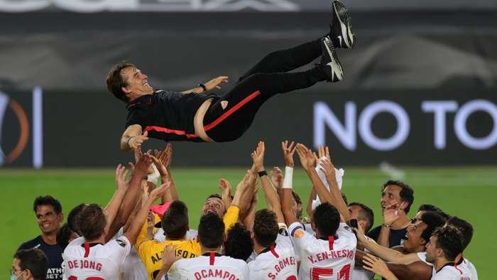 Julen Lopetegui Sevilla Europa League final