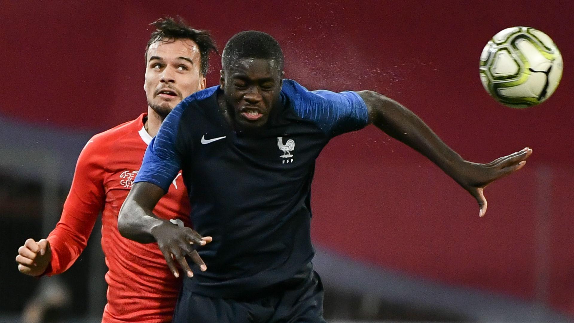 RB Leipzig's Upamecano shines in France debut against Sweden