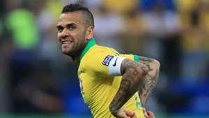 Dani Alves Brazil Peru Copa America 2019