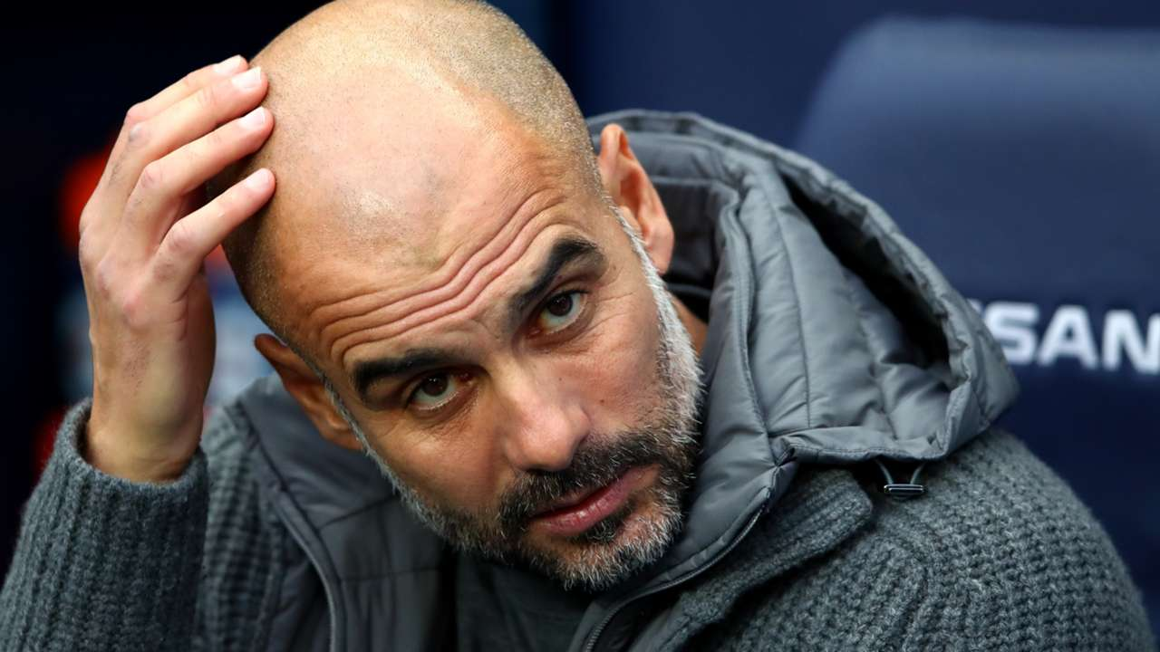 Pep Guardiola, Manchester Cit