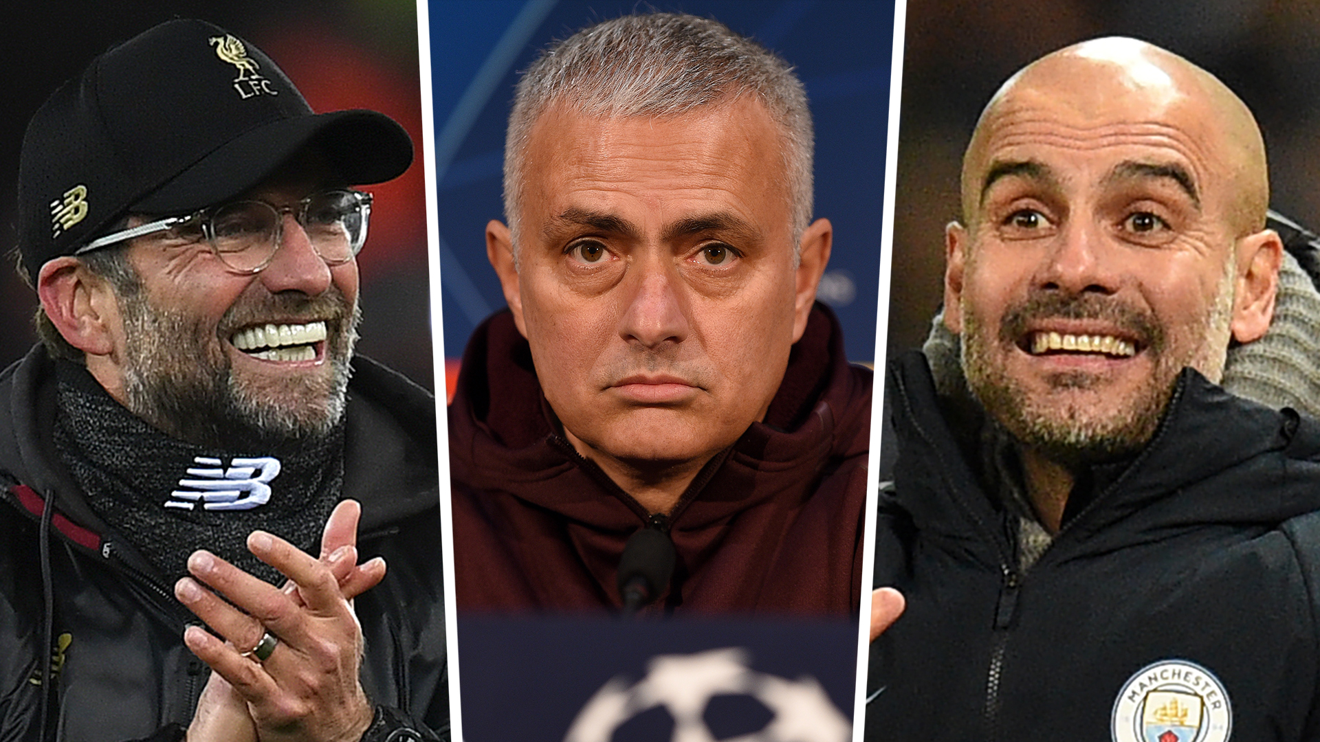 Jose Mourinho: When Jurgen Klopp or Pep Guardiola do it they're ...