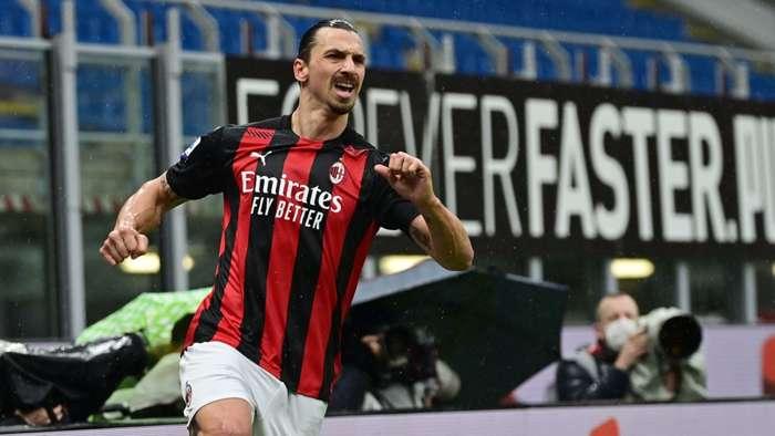 Zlatan Ibrahimovic AC Milan 2021