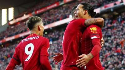 Liverpool Celebrating Virgil van Dijk 2019