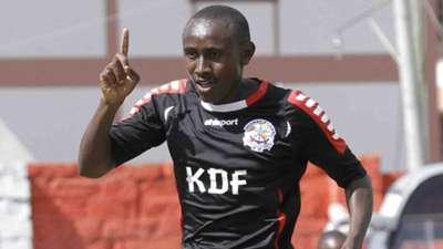 Ulinzi Stars striker Stephen Waruru.