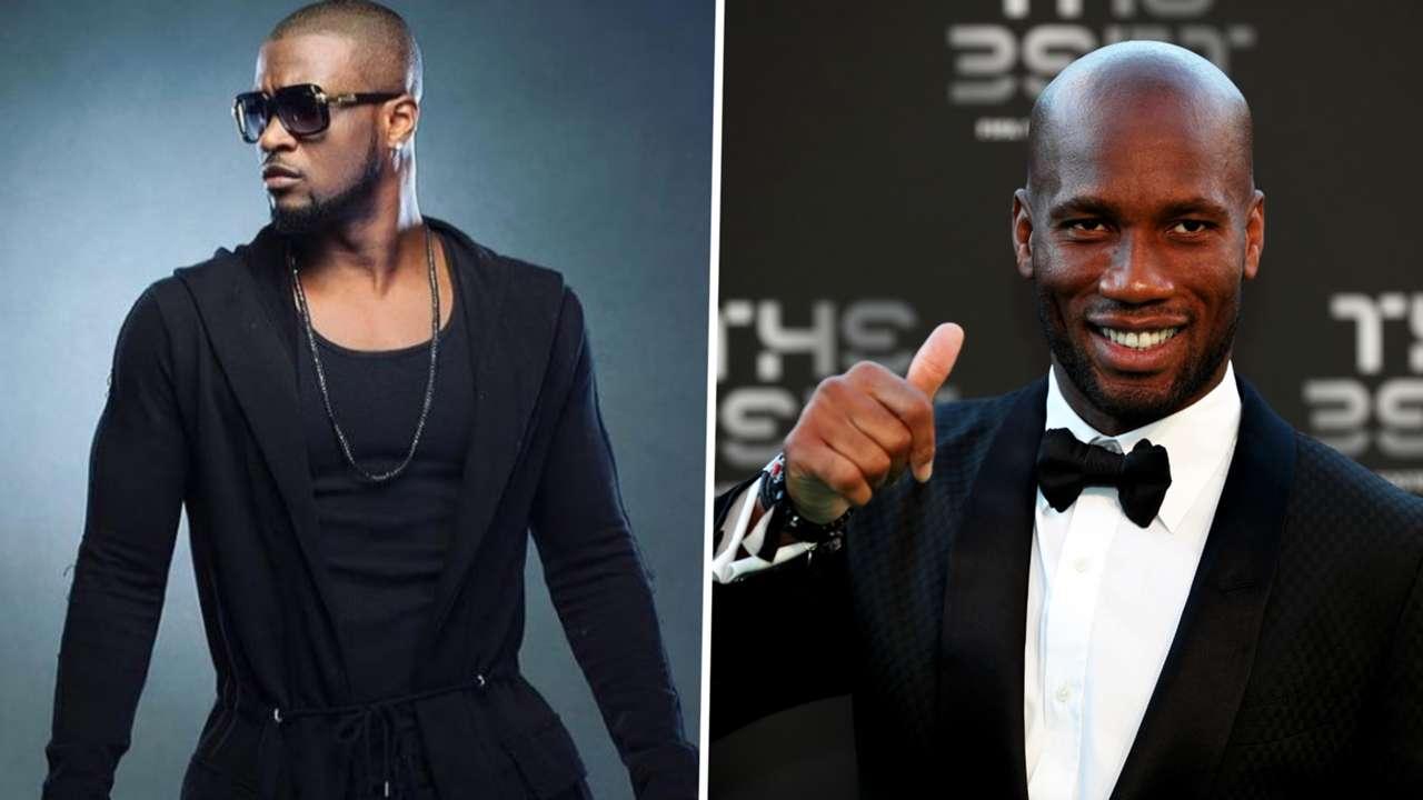 Peter Okoye (Mr. P), Didier Drogba