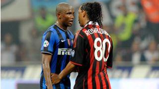 Ronaldinho,Eto'o
