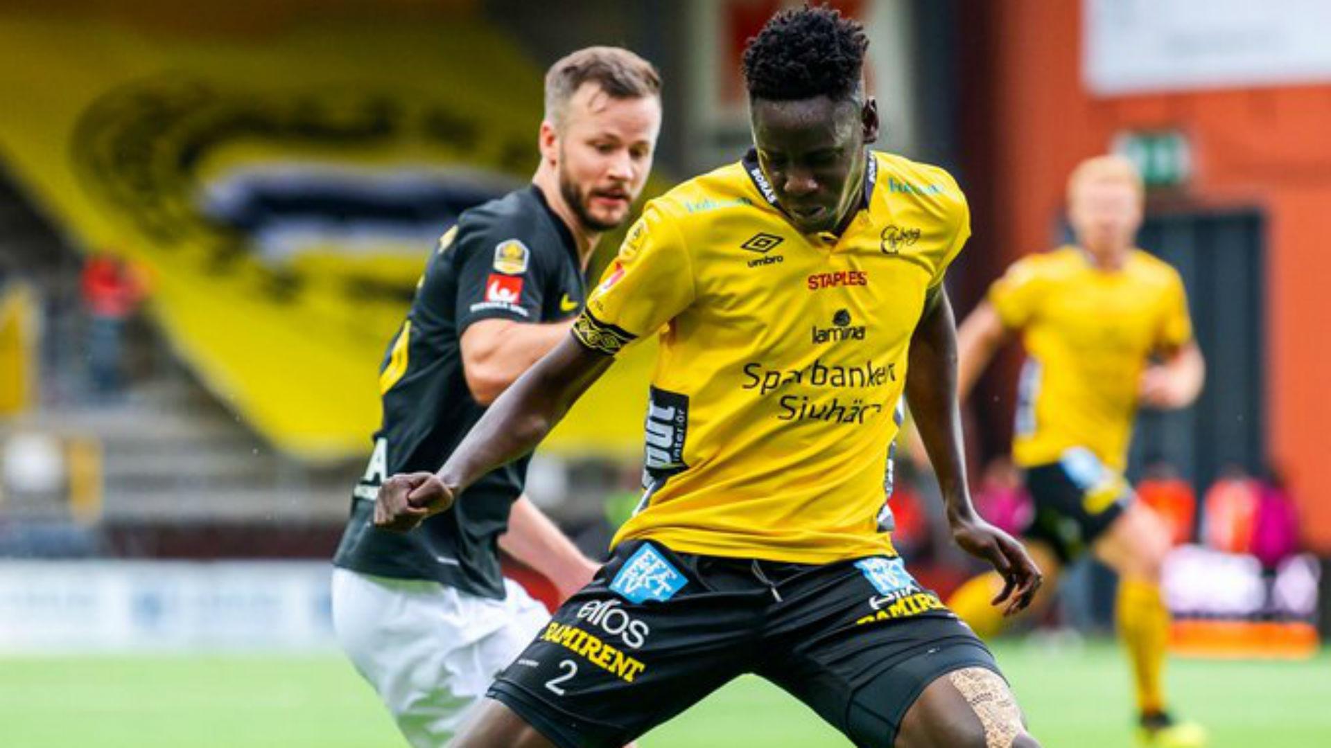 Okumu: Kenya defender returns from injury as IF Elfsborg held in Sweden