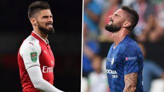Olivier Giroud Arsenal Chelsea