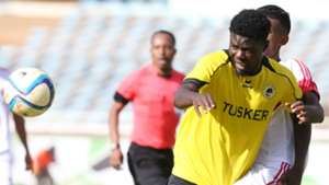 Allan Wanga vie for the ball
