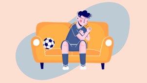 Coronavirus symptoms football