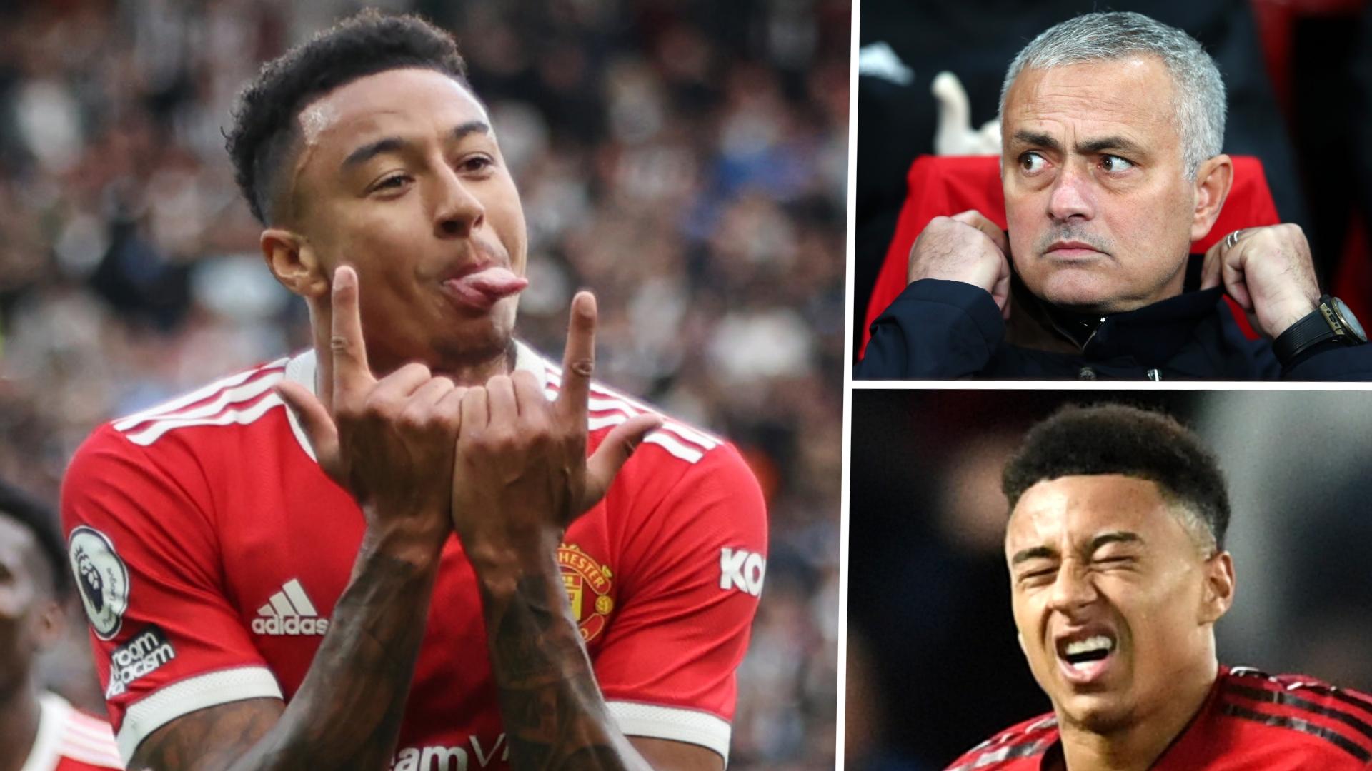 Man Utd star Lingard opens up on Mourinho's random FaceTime calls, hitting rock bottom & love for Bruno Fernandes