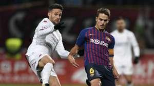 Denis Suarez Zelu Cultural Leonesa Barcelona Copa del Rey 31102018