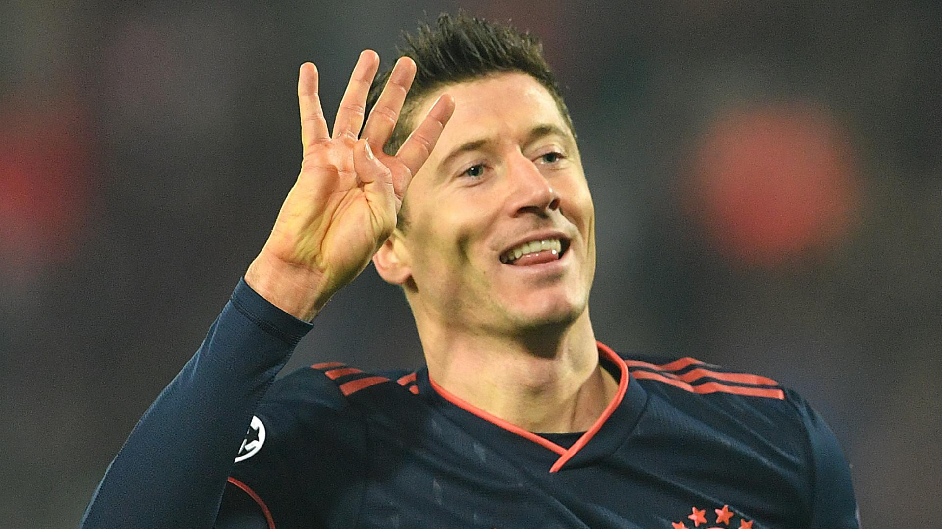 'Haaland can be like Lewandowski, but he's not there yet' – Bayern striker still above Dortmund starlet, says Hitzfeld