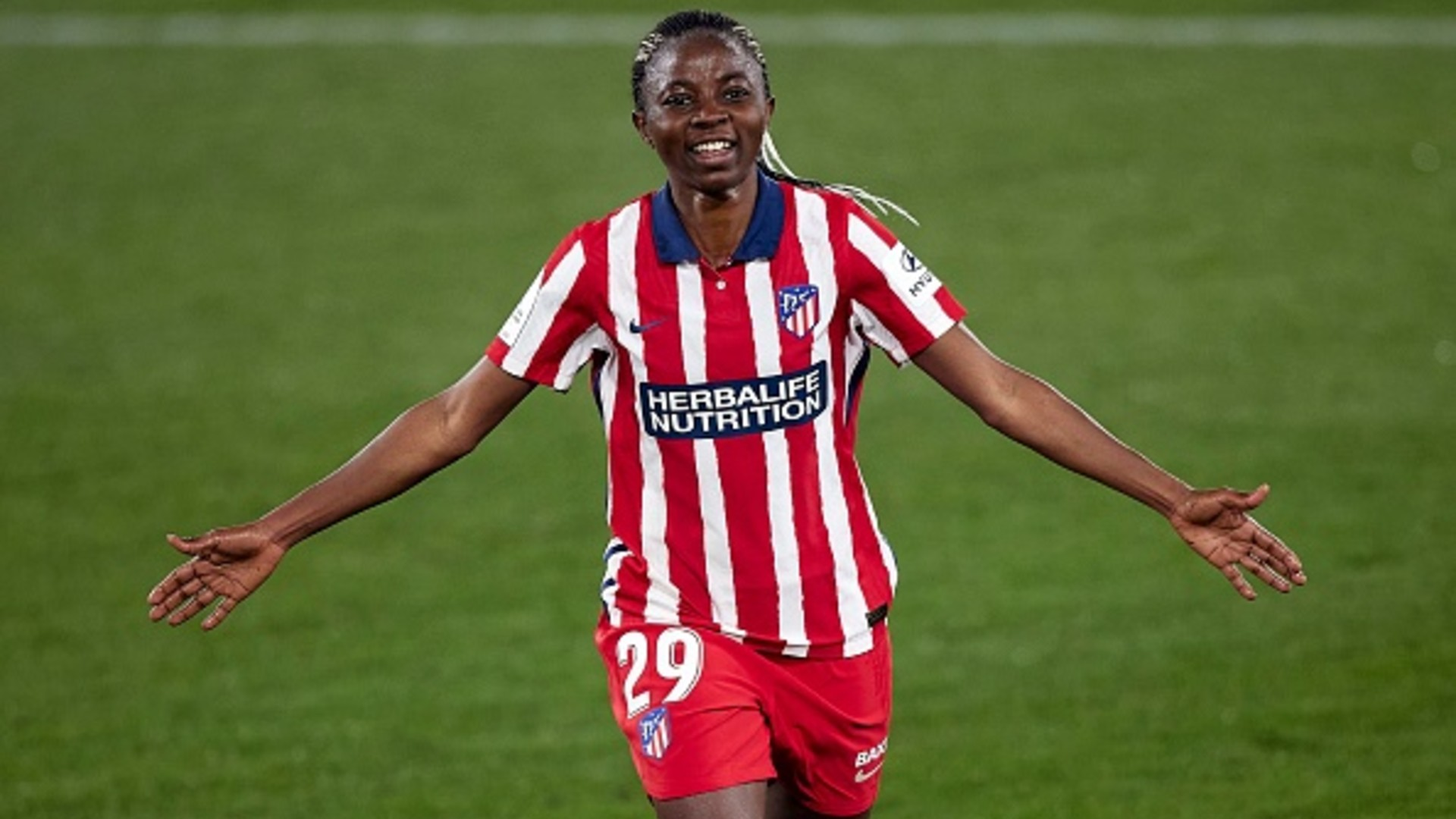 Nchout breaks Iberdrola duck with goal and assist in Atletico Madrid draw