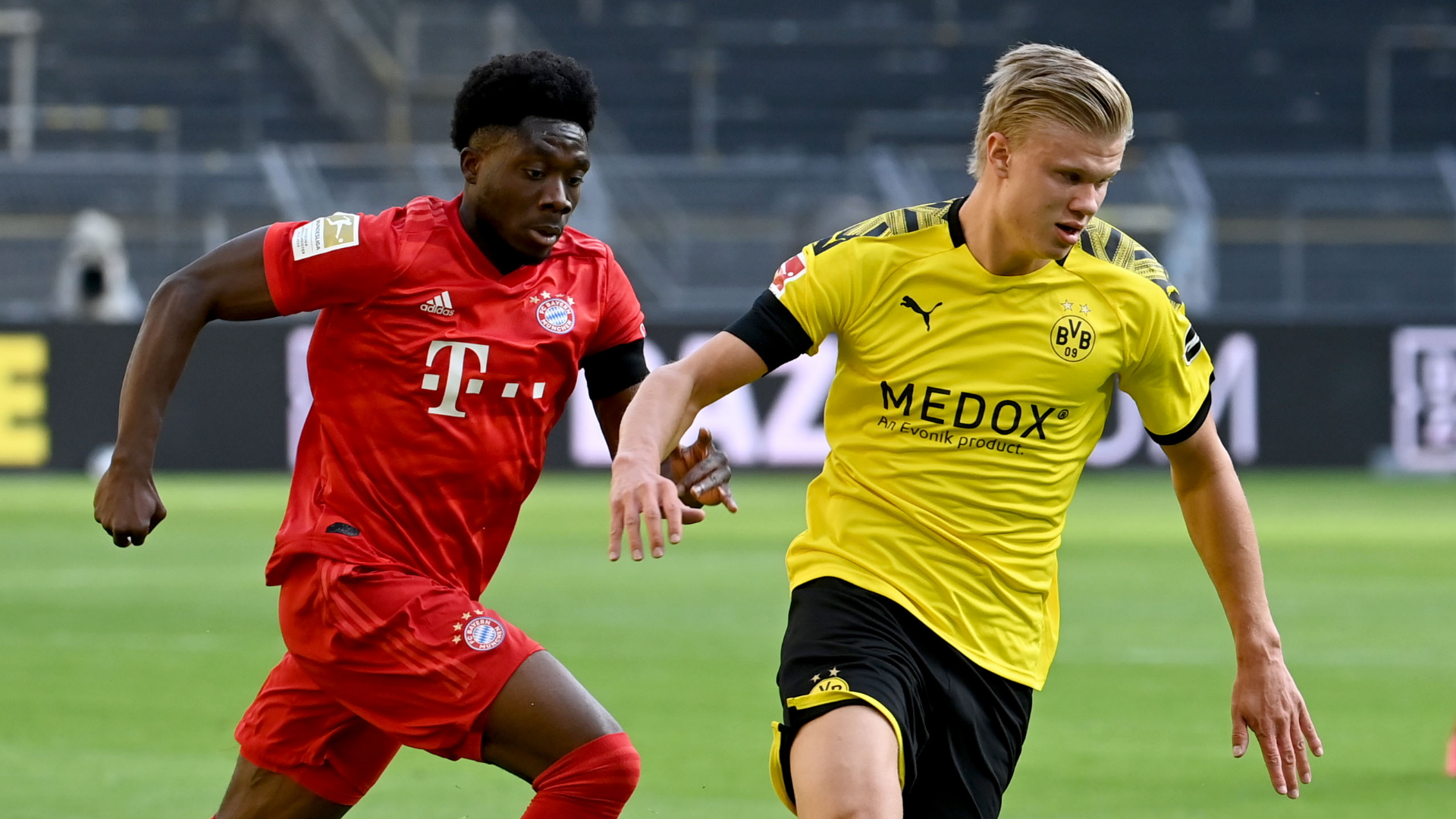 Alphonso Davies is fast as f*ck!' - Bayern star's pace amazes in ...
