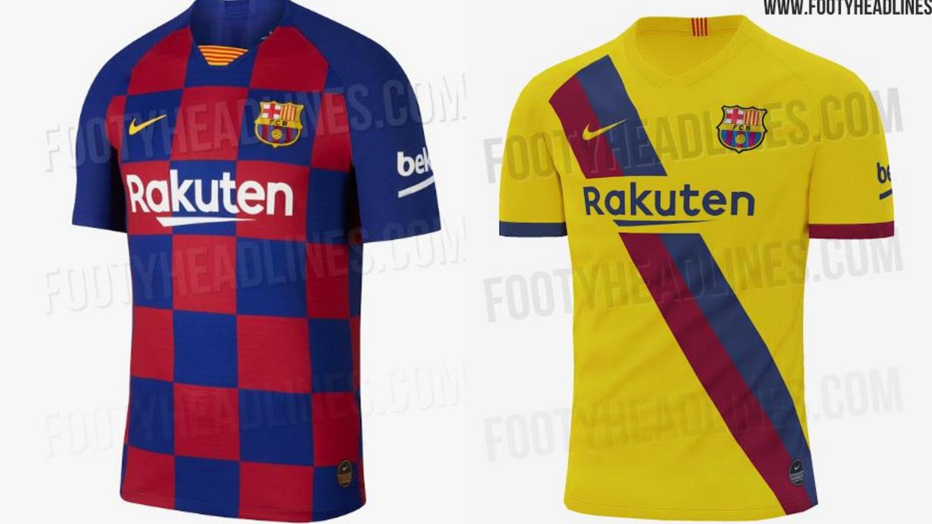 Asi Sera La Segunda Equipacion Del Barcelona 2019 2020 Segun Footy Headlines Goal Com