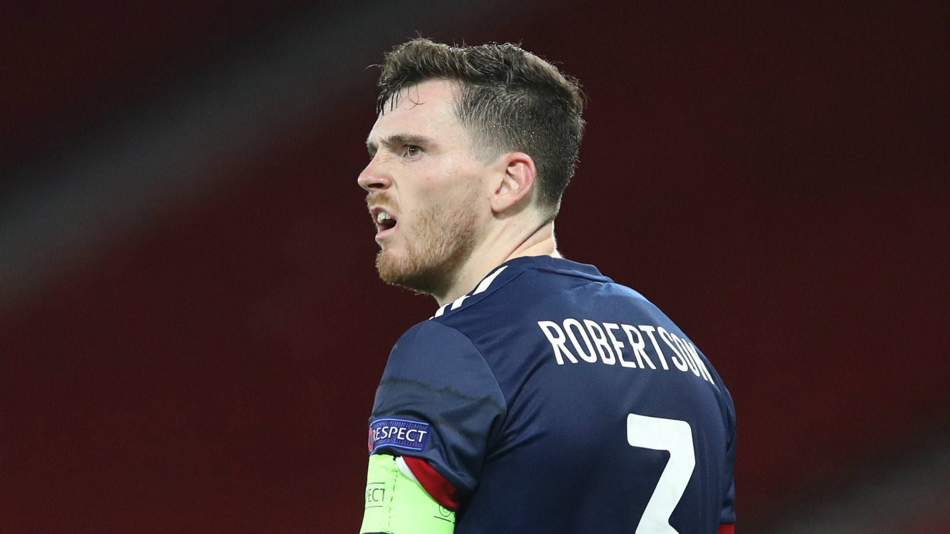 New injury nightmare for Liverpool with Robertson out of Scotland's Nations League clash   Goal.com