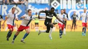 ONLY GERMANY Adrian Fein Silas Wamangituka HSV VfB Stuttgart 2. Bundesliga