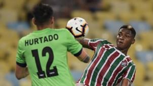 Yoni González Fernando Hurtado Fluminense Antofagasta Copa Sudamericana 26022019