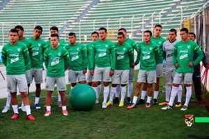 Práctica selección Bolivia