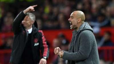 Ole Gunnar Solskjaer Pep Guardiola Manchester United Manchester City 24042019