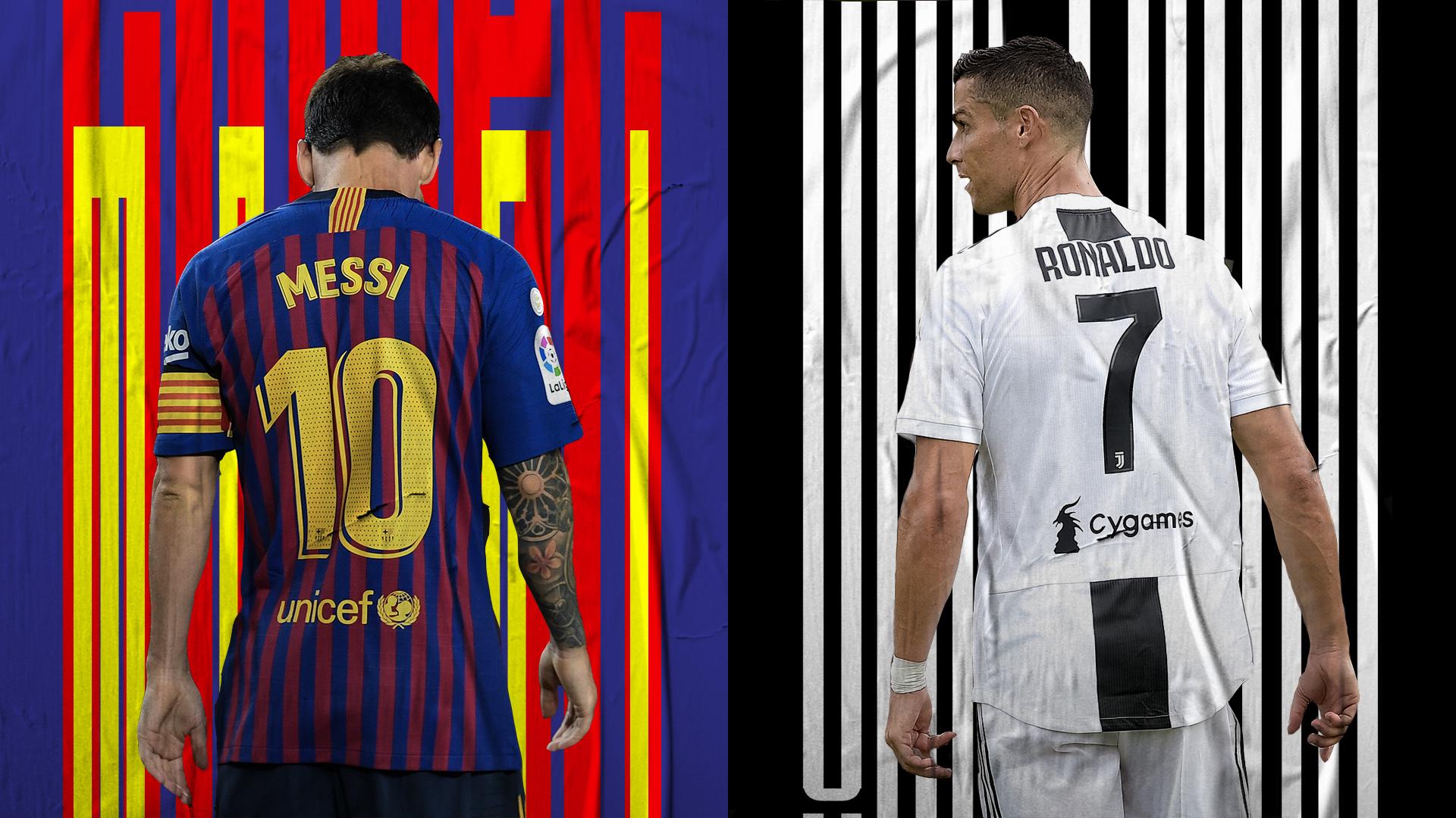 Cristiano Ronald and Lionel Messi
