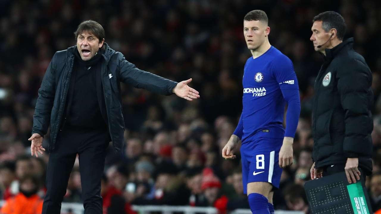 Ross Barkley Antonio Conte Arsenal Chelsea