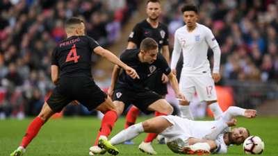 england croatia - ivan perisic marko rog - uefa nations league - 18112018