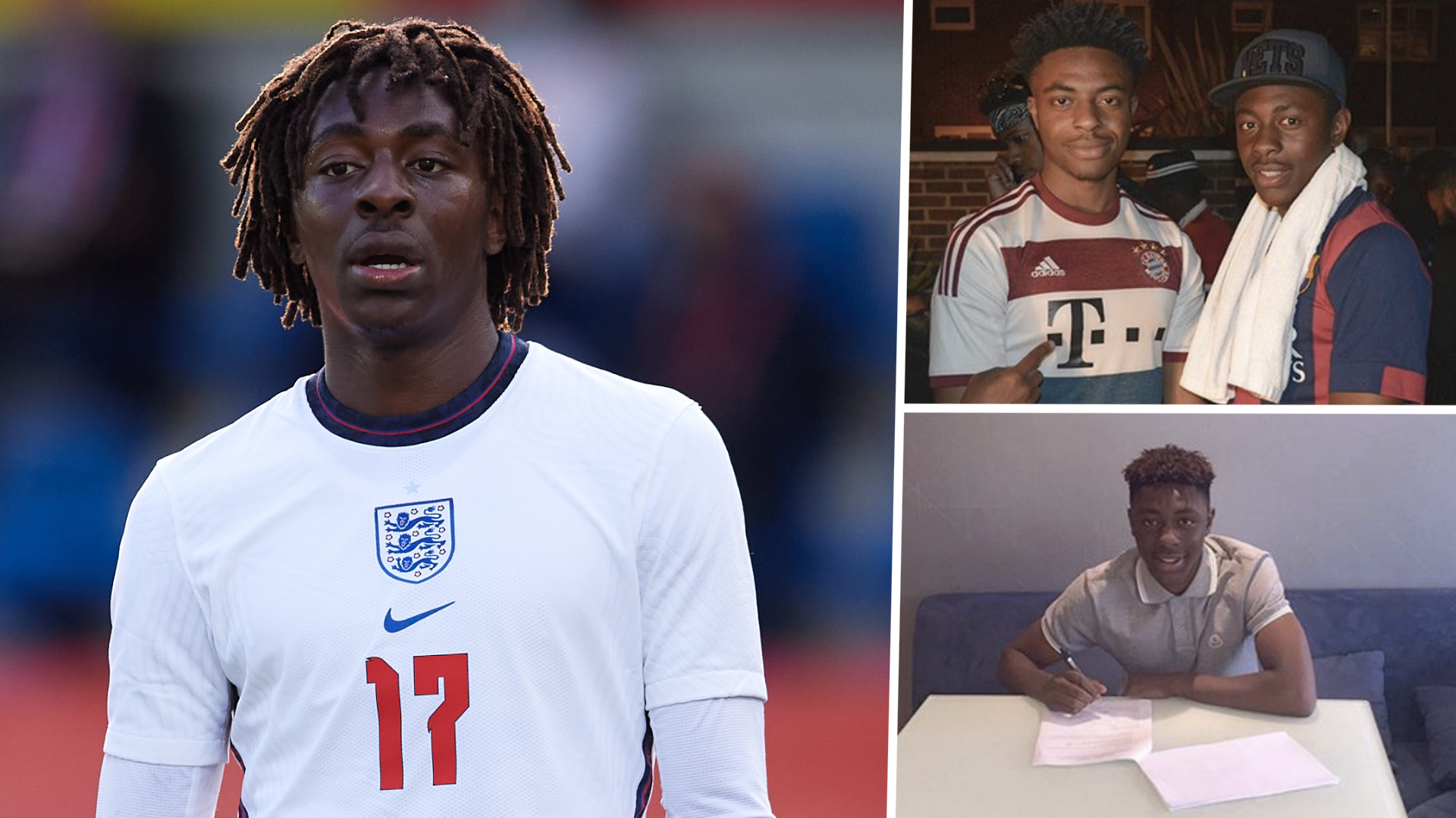 Arsenal & Fulham rejections made £17m Palace star Eze doubt he would make it in football