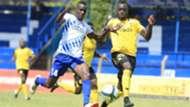 Brian Nyakan of Sofapaka v Eugine Asike of Tusker FC.