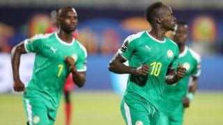 Senegal's Sadio Mane at Afcon 2019