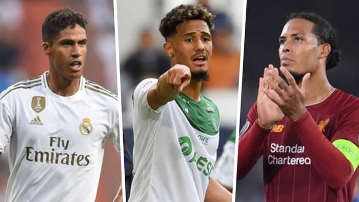 Raphael Varane William Saliba Virgil van Dijk
