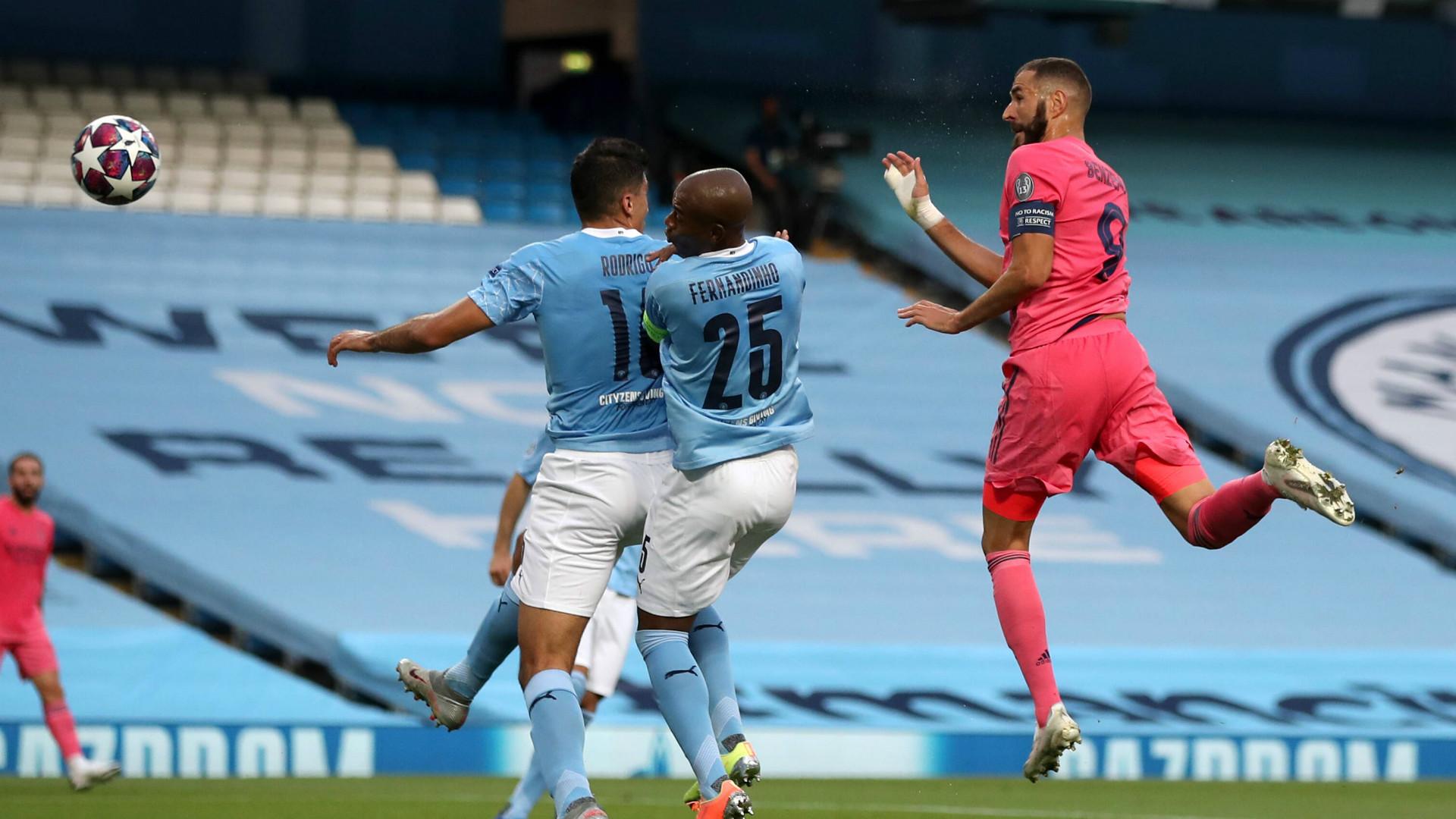Buteur contre Man City, Benzema double Lewandowski