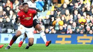 Anthony Martial Manchester United Fulham 090219