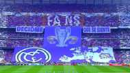 Bandera Real Madrid Atletico Madrid Champions League 02052017
