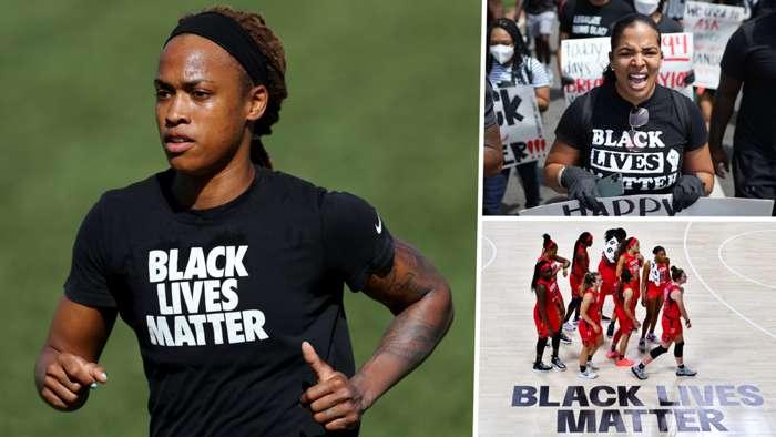 Jessica McDonald Black Lives Matter GFX