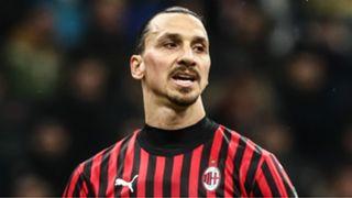 Zlatan Ibrahimovic AC Milan 2019-20