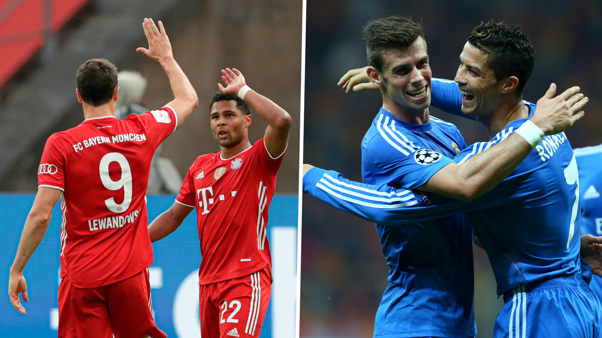 Gnabry and Lewandowski surpass Ronaldo and Bale as Bayern near Champions League goal-scoring record