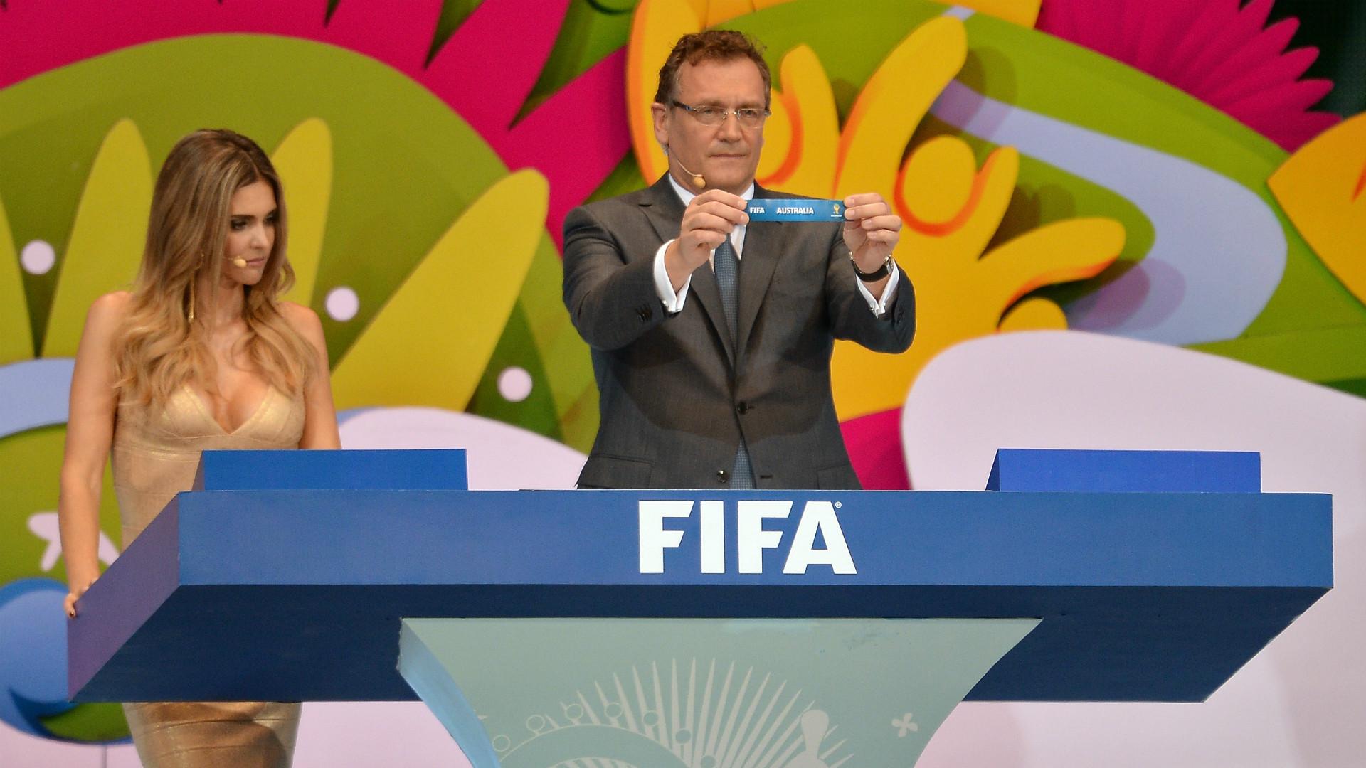 FIFA World Cup 2014 draw