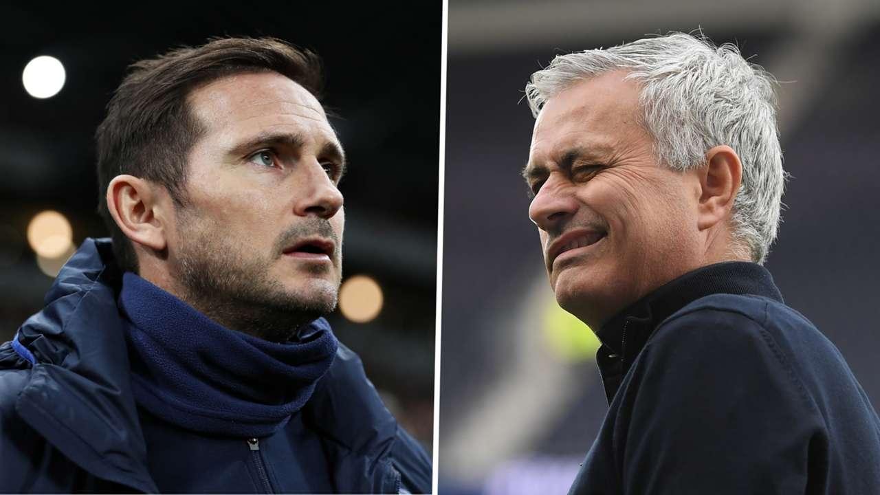 Frank Lampard Chelsea Jose Mourinho Tottenham GFX