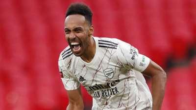 Pierre-Emerick Aubameyang Arsenal 2020-21