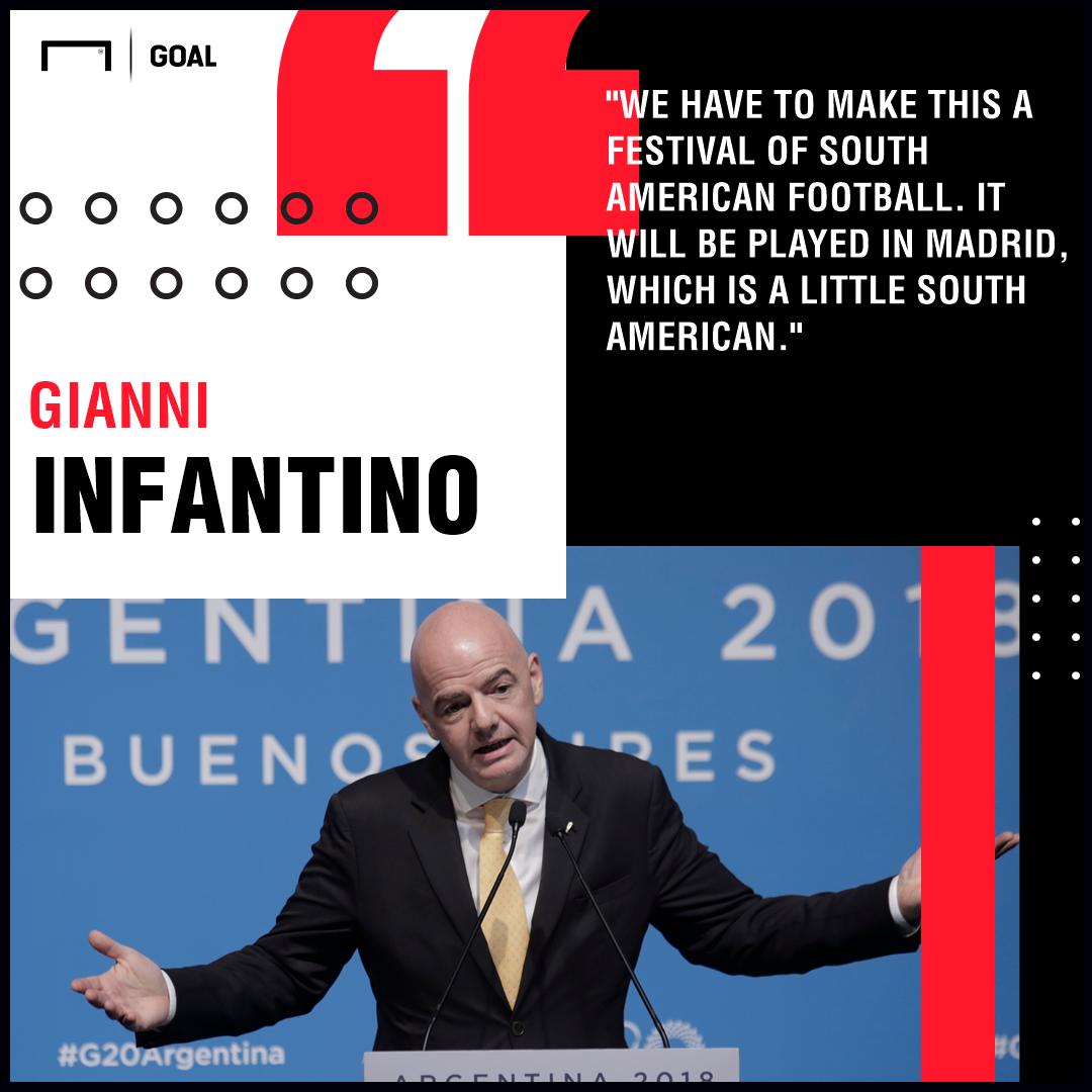 Gianni Infantino Copa Libertadores PS