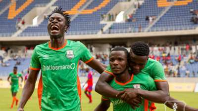 Zesco United striker Jesse Were.