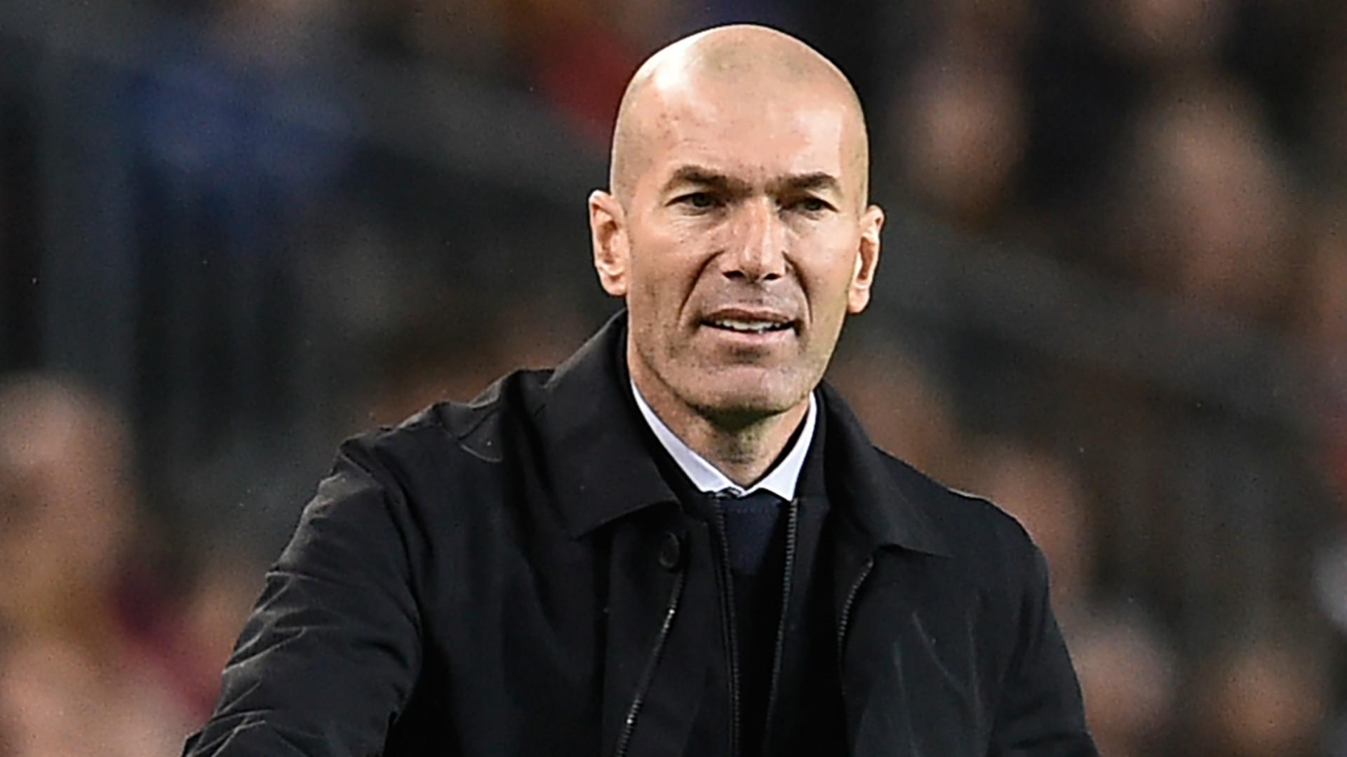 """Real - Zidane : """"Je ne peux rien reprocher à mes joueurs"""""""