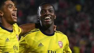 What do Arsenal plan to do with Nketiah following Leeds recall?