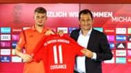 Hasan Salihamidzic Michael Cuisance FC Bayern
