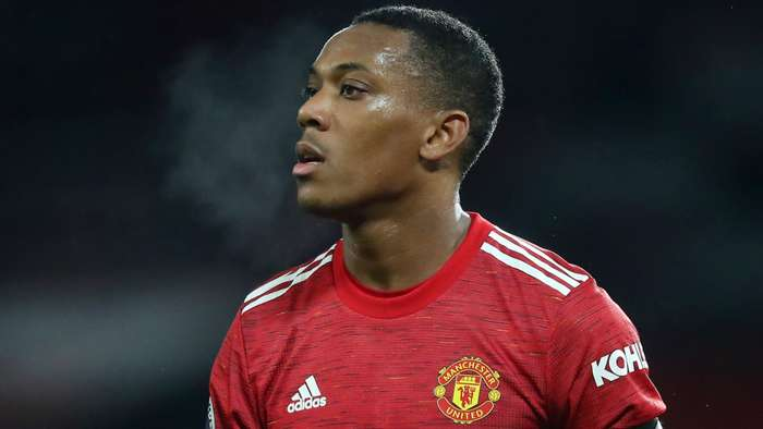 Anthony Martial Man Utd 2020-21