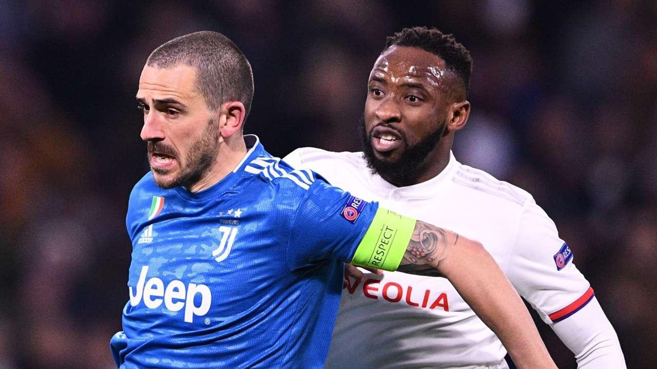 Leonardo Bonucci Moussa Dembele Lyon Juventus 2019-20