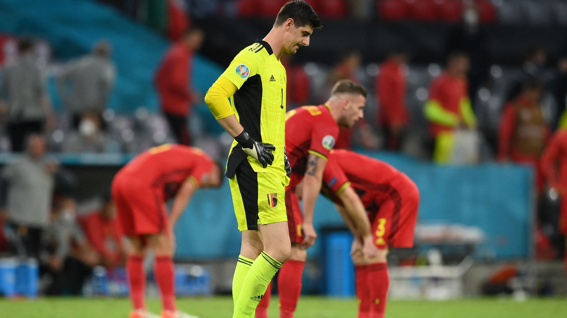 Martinez to stay on as Belgium boss despite another failure for 'golden generation' at Euro 2020